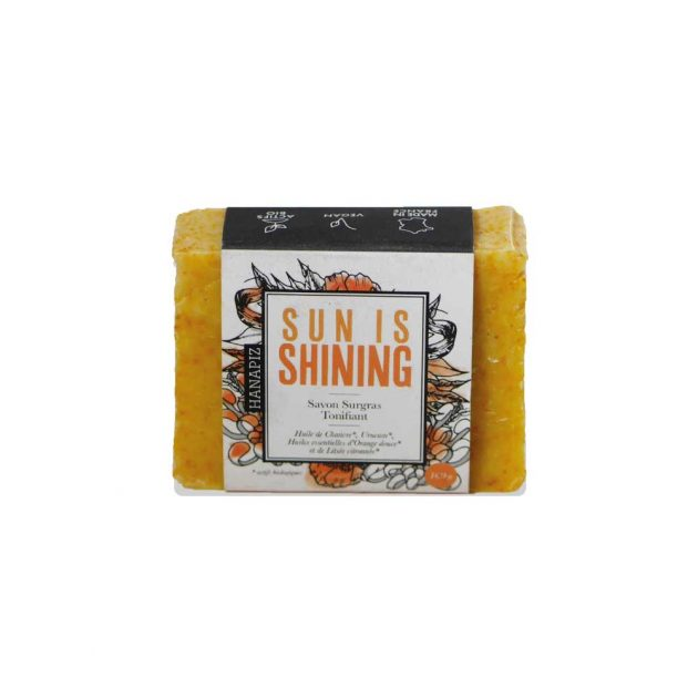 Savon bio surgras Sun is shining - Chanvre bio