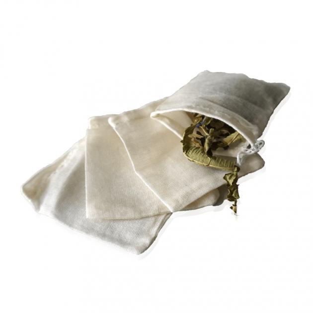 Sachets de thé réutilisables