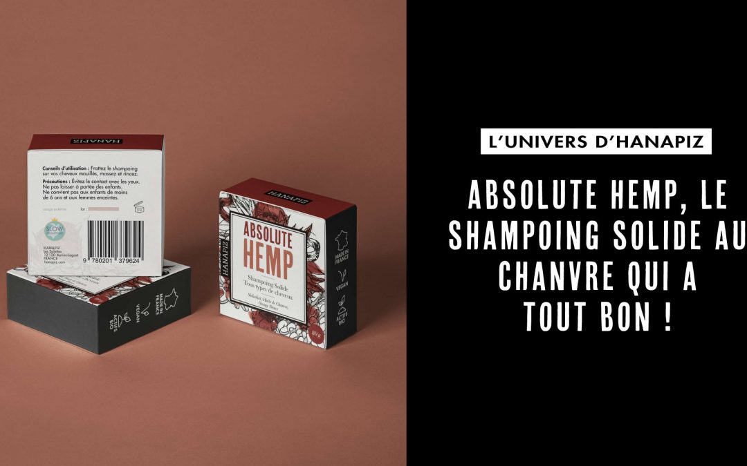 Shampoing solide au chanvre