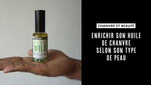 Recette huile de chanvre peau